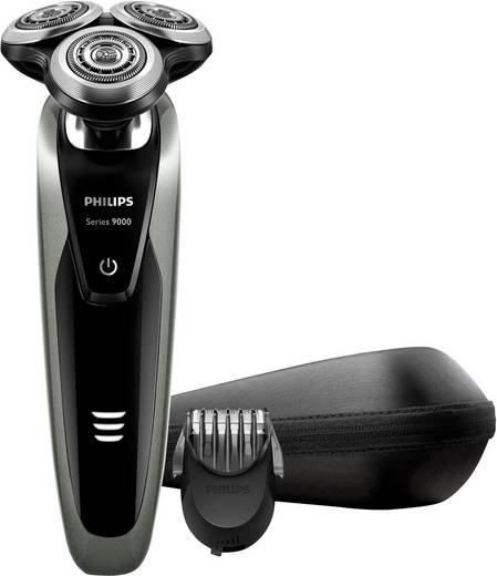 Rotationsrasierer Philips S9161/41 SensoTouch - Shaver Series 9000 Silber