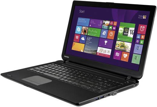 Toshiba Satellite C50-A-1JU 39.6 cm (15.6 Zoll) Notebook Intel® Pentium® 4 GB 500 GB HDD Intel HD Graphics Windows® 8