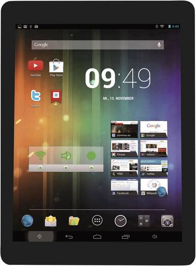 cmx Clanga SE 097-1008 Android-Tablet 24.6 cm (9.7 Zoll) 8 GB Wi-Fi Schwarz 1 GHz Quad Core
