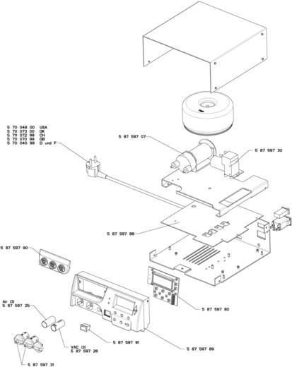 Löt-/Entlötstation-Versorgungseinheit digital 420 W Weller Professional WXR 3 230 V 100 bis 450 °C