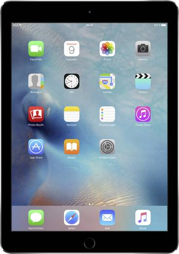 Apple iPad Air (Refurbished) 24.6 cm (9.7 Zoll) 32 GB Wi-Fi Spacegrau