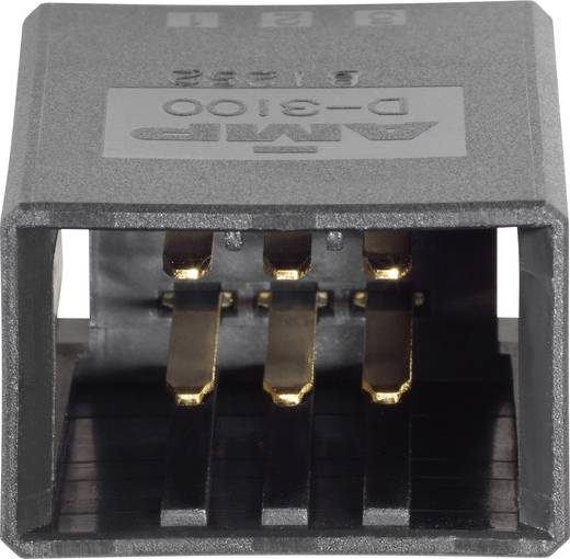 TE Connectivity Einbau-Stiftleiste (Präzision) DYNAMIC 3000 Series Polzahl Gesamt 6 178303-2 1 St.