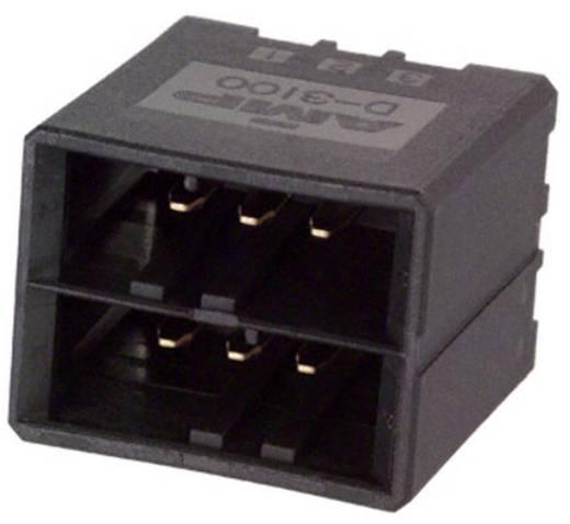 TE Connectivity Einbau-Stiftleiste (Präzision) DYNAMIC 3000 Series Polzahl Gesamt 6 3-178141-5 1 St.