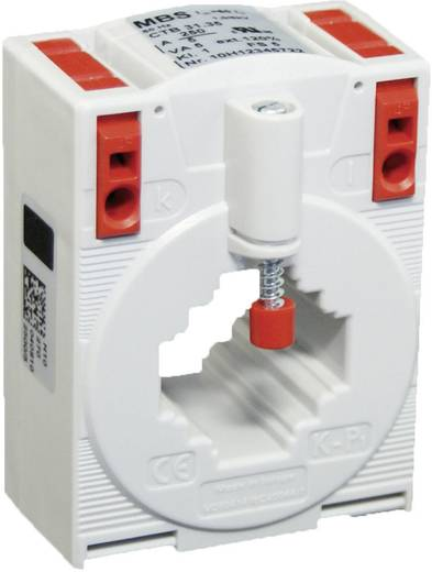 MBS CTB 31.35 80/5A 2,5VA Kl.1 Stromwandler Primärstrom:80 A Sekundärstrom:5 A Leiterdurchführung Ø:26 mm