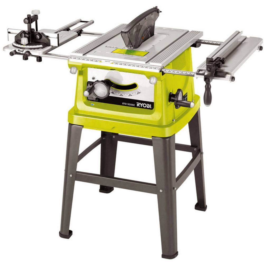 ryobi ets1526hg table saw from. Black Bedroom Furniture Sets. Home Design Ideas