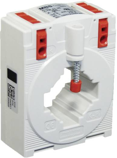 MBS CTB 41.35 75/5A 1,25VA Kl.3 Stromwandler Primärstrom:75 A Sekundärstrom:5 A Leiterdurchführung Ø:32 mm