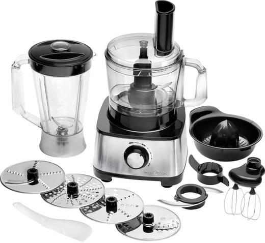 Profi Cook PC-KM 1063 Küchenmaschine 1200 W Schwarz-Silber