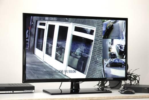 funk berwachungskamera set 4 kanal mit 4 kameras smartwares wdvr740s kaufen. Black Bedroom Furniture Sets. Home Design Ideas