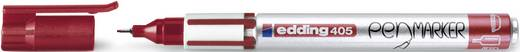 Edding Fineliner edding 405 pen marker Rot 0.7 mm 4-405002