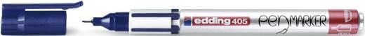 Edding Fineliner edding 405 pen marker Blau 0.7 mm 4-405003
