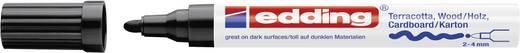 Edding Deco Marker E-4000 4-4000001 Schwarz 2 mm, 4 mm 1 St./Pack.