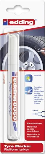 Edding Reifenmarker E-8050 4-8050049 Weiß 2 mm, 4 mm 1 St./Pack.