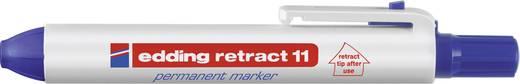 Edding Permanentmarker edding retract 11 Blau wasserfest: Ja 4-11003