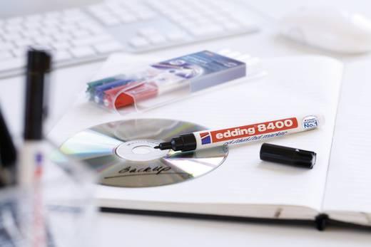 Edding CD/DVD Marker E-8400 4-8400001 Schwarz 0.5 mm, 1 mm 1 St./Pack.