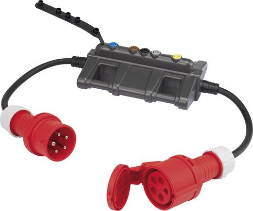 Messadapter CEE-Stecker - CEE-Kupplung VOLTCRAFT DLA-3L 32