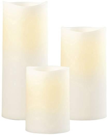 led kerze warm wei led sompex 37501 elfenbein kaufen. Black Bedroom Furniture Sets. Home Design Ideas
