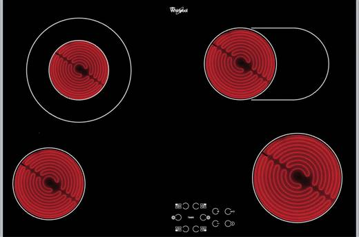 glaskeramik kochfeld whirlpool akt 8360 lx autark. Black Bedroom Furniture Sets. Home Design Ideas