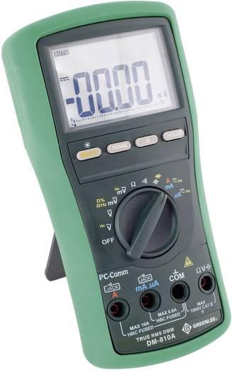 Hand-Multimeter digital Greenlee DM-810A Kalibriert nach: Werksstandard (ohne Zertifikat) CAT IV 1000 V Anzeige (Counts