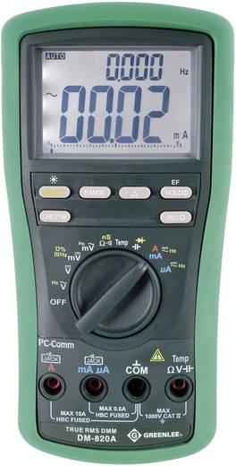 Greenlee DM-820A Hand-Multimeter digital Kalibriert nach: Werksstandard (ohne Zertifikat) CAT IV 1000 V Anzeige (Counts