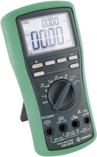 Hand-Multimeter digital Greenlee DM-820A Kalibriert nach: Werksstandard (ohne Zertifikat) CAT IV 1000 V Anzeige (Counts