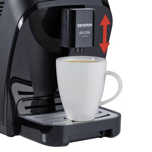 severin kv8081 piccola induzio cafe only kaffeevollautomat mit induktions milchaufsch umer. Black Bedroom Furniture Sets. Home Design Ideas