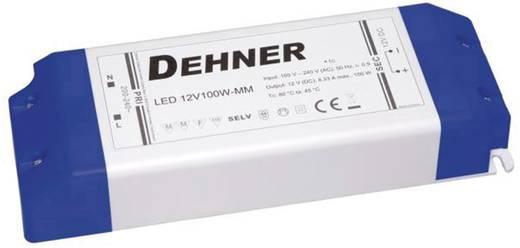 Dehner Elektronik LED 12V100W-MM LED-Trafo Konstantspannung 100 W 0 - 8.33 A 12 V/DC Möbelzulassung