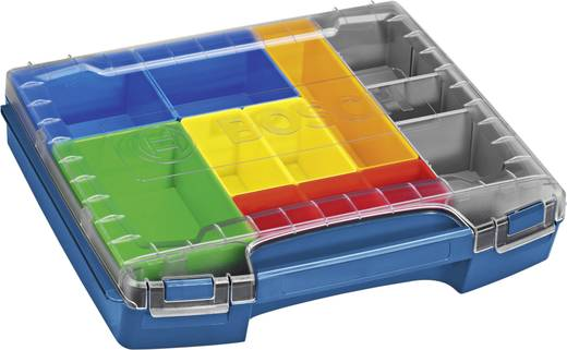 Bosch Professional i-BOXX 72 Sortimentskoffer (L x B x H) 316 x 357 x 72 mm Anzahl Fächer: 10 variable Unterteilung