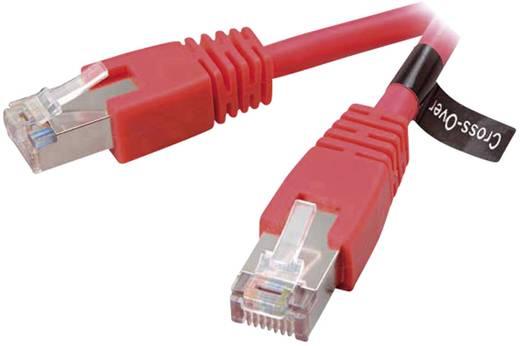RJ45 (gekreuzt) Netzwerk Anschlusskabel CAT 5e S/FTP 5 m Rot Vivanco