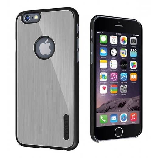 Cygnett Urban Shield iPhone Backcover Passend für: Apple iPhone 6 , Silber