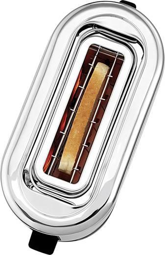 WMF Toaster mit eingebautem Brötchenaufsatz Edelstahl, Schwarz