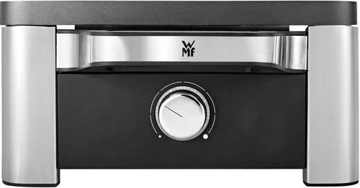 WMF LONO Raclette Raclette 8 Pfännchen, mit manueller Temperatureinstellung Edelstahl, Schwarz