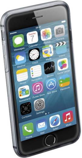 Cellularline Clear Duo Cover iPhone Backcover Passend für: Apple iPhone 6, Transparent