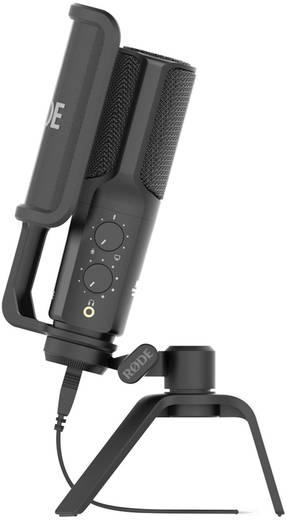RODE Microphones NT USB USB-Studiomikrofon Kabelgebunden inkl. Kabel, Standfuß