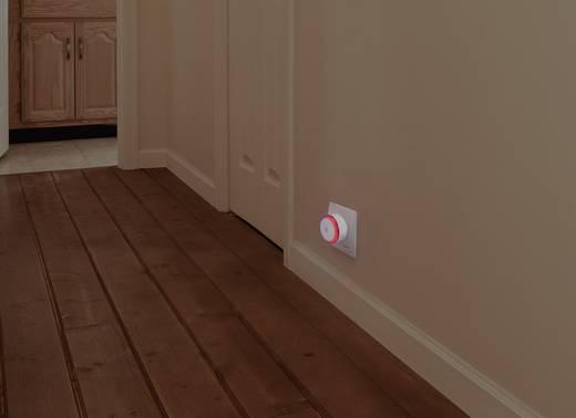 led nachtlicht 2er set rund led rot blau renkforce rueda emn100x2 wei kaufen. Black Bedroom Furniture Sets. Home Design Ideas
