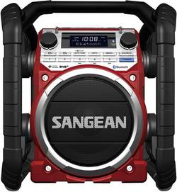 Outdoorové DAB+ rádio Sangean U-4 DBT, červená/černá
