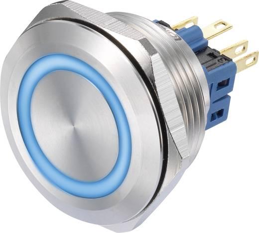 Druckschalter 250 V/AC 3 A 1 x Ein/(Ein) TRU COMPONENTS GQ30-11E/B/12V IP65 tastend 1 St.