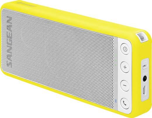 bluetooth lautsprecher sangean blutab speaker yellow freisprechfunktion nfc wei gelb. Black Bedroom Furniture Sets. Home Design Ideas