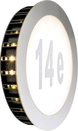 LED osvětlení čísla domu Paulmann Sunset 93791, 5.6 W, teplá bílá, nerezová ocel