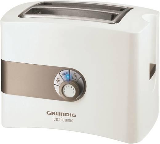 grundig ta4260 toaster mit br tchenaufsatz wei gold kaufen. Black Bedroom Furniture Sets. Home Design Ideas