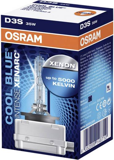xenon leuchtmittel osram xenarc cool blue ds3 35 w. Black Bedroom Furniture Sets. Home Design Ideas