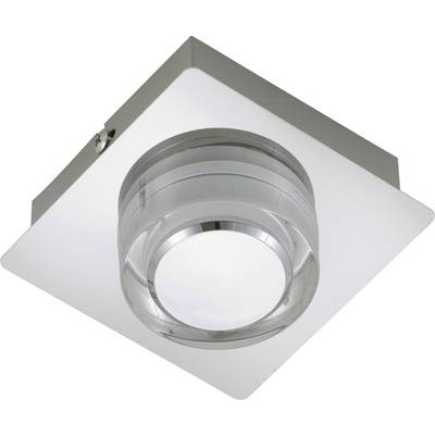 Briloner Surf 2257-018 LED-Bad-Deckenleuchte EEK: LED (A++ - E) 5 W  Warm-Weiß Chrom