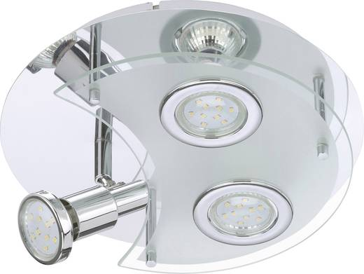 Bad-Deckenleuchte LED GU10 9 W Briloner Splash 2228-038 Chrom ...