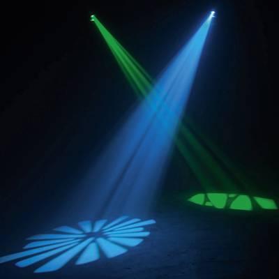 Faretto LED effetto DMX ADJ Inno Pocket Scan Numero di LED:1 x 12 W