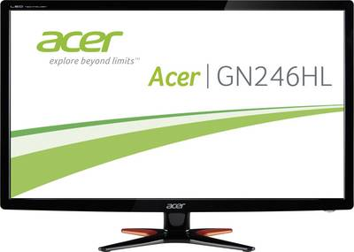 Monitor LED (24 pollici) Acer GN246HLB Classe energetica B 1920 x 1080 Pixel 1 ms DVI, HDMI ™, VGA TN Film