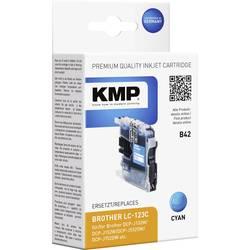 Kompatibilná náplň do tlačiarne KMP B42 1525,0003, zelenomodrá