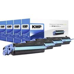 KMP sada tonerů náhradní HP 124A, Q6000A, Q6001A, Q6002A, Q6003A kompatibilní černá, azurová, purppurová, žlutá 2500 Seiten H-T8