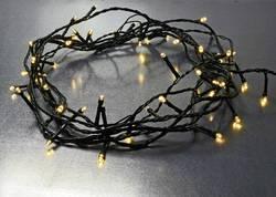 Vnitřní/venkovní LED osvětlení na vánoční stromeček X4-LIFE 100 LED na baterii teplá bílá 10 m