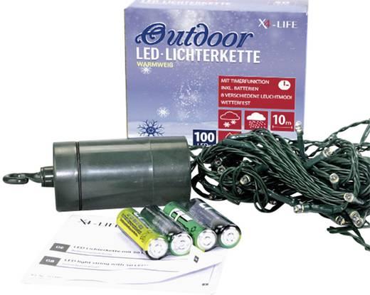outdoor led lichterkette 100 leds. Black Bedroom Furniture Sets. Home Design Ideas