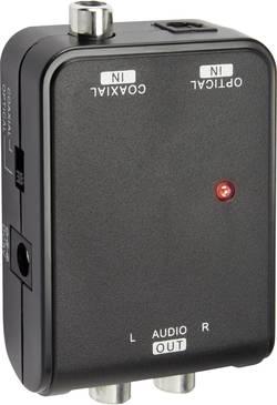 Audio převodník Speaka, Toslink/Koax ⇒ stereo cinch
