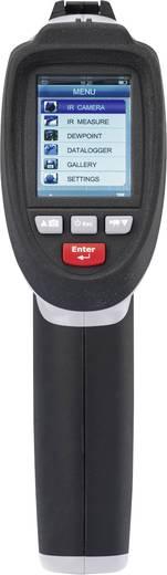 Infrarot-Thermometer VOLTCRAFT IR-1600 CAM Optik 50:1 -50 bis +1600 °C Pyrometer, Echtbildanzeige Kalibriert nach: Werks